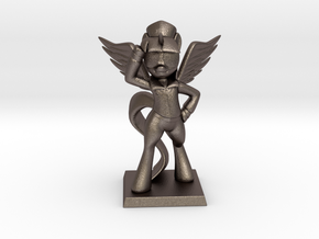 My Little Pony - Twilight CommanderEasyglider 17cm in Polished Bronzed Silver Steel