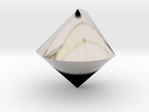 Sphericon in Platinum
