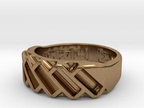 US10 Ring XVII: Tritium in Natural Brass