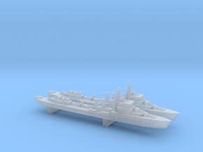 Burza (Wicher class) 1/1800 x2 in Smooth Fine Detail Plastic