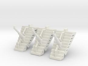 Panglantean Landing Gear Set Of 3t in White Natural Versatile Plastic
