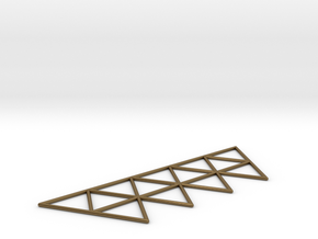 Vega Frame 2D in Polished Bronze