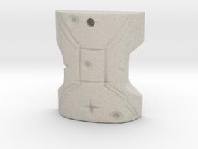 Japor Snippet Pendant in Sandstone