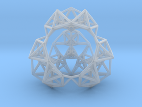 Inversion of a Sierpinski Tetrahedron in Smooth Fine Detail Plastic