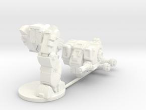 Mattock MkB Heavy Combat Walker - 6mm scale in White Processed Versatile Plastic