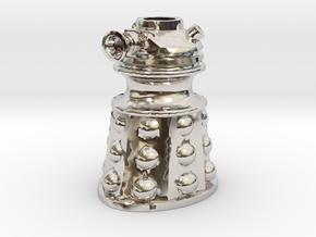 Dalek Post Version A in Platinum