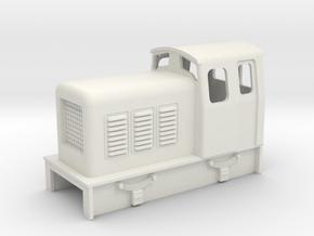009 chunky diesel loco  in White Natural Versatile Plastic