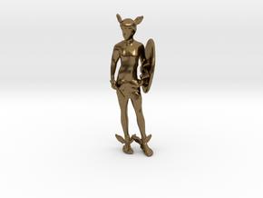 Perseus in Natural Bronze