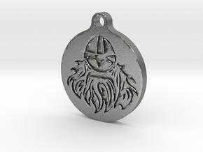 Vikingface in Natural Silver
