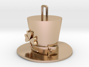 St Patrick's hat in 14k Rose Gold
