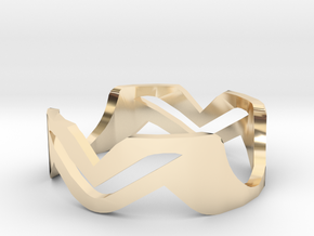 Ring MV in 14K Yellow Gold