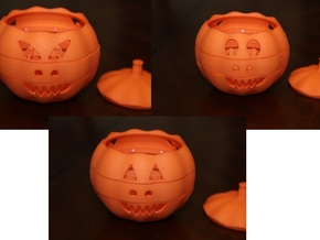 Dial-O-Lantern in Orange Processed Versatile Plastic