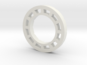 Provari P3 Ring in White Natural Versatile Plastic