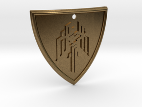 Dragon Age Shield in Natural Bronze
