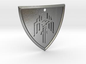 Dragon Age Shield in Natural Silver
