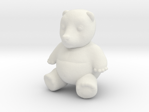 TubbyBub in White Natural Versatile Plastic