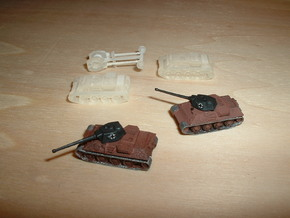 VK 30.02 DB Medium Tank Protype 1/285 6mm in Smooth Fine Detail Plastic