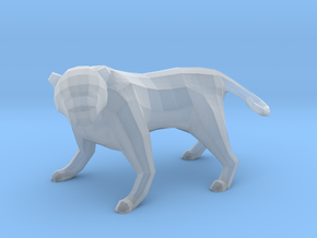 Low Poly Panther [4,5cm Tall] in Smooth Fine Detail Plastic