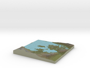 Terrafab generated model Wed Oct 08 2014 09:16:50  in Full Color Sandstone