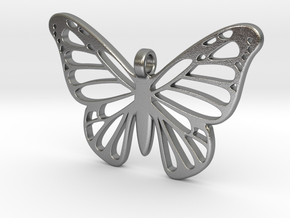 Butterbug 7 in Natural Silver