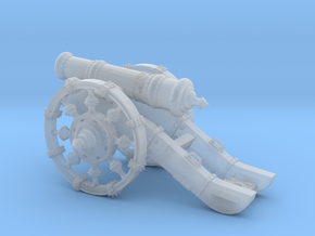 Mini Cannon Detailed   in Smooth Fine Detail Plastic