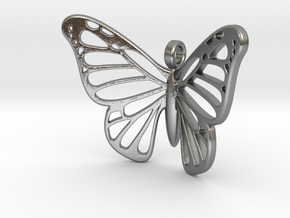 Butterbug 7b in Natural Silver