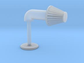 Aftermarket Intake Cufflink in Smooth Fine Detail Plastic