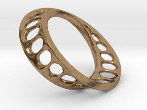mobius track 4 cm in Natural Brass