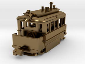 1001-2 Baldwin Steam Tram (Type A) 1:148 in Polished Bronze