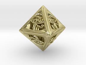 Millennium Dice in 18k Gold
