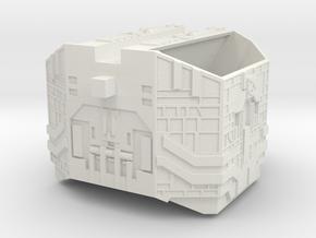 "Somtaaw ""Explorer"" Hangar Module in White Natural Versatile Plastic"