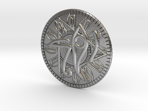 Game coin(Egypt) in Natural Silver