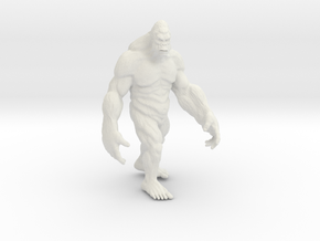 Yeti in White Natural Versatile Plastic