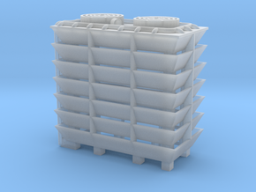 Cooling Tower - HOscale in Smooth Fine Detail Plastic