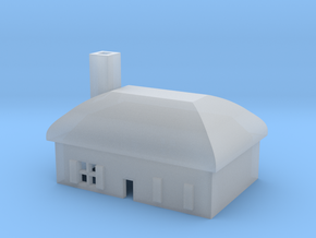 1/600 Village House 4 in Smooth Fine Detail Plastic