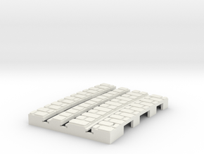 P-9-165st-short-250r-curved-inside-1a in White Natural Versatile Plastic
