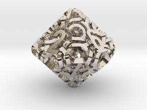 Ring d10 in Platinum