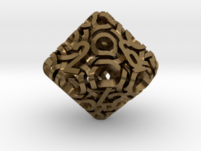 Ring d10 in Natural Bronze