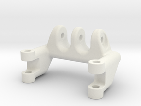 Axial SCX10 4-link holder for narrow axle in White Strong & Flexible