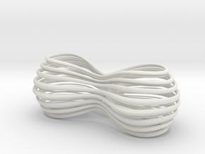 Bow tie in White Natural Versatile Plastic