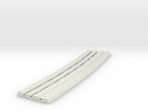 P-9-165st-long-y-curved-outside-1a in White Natural Versatile Plastic