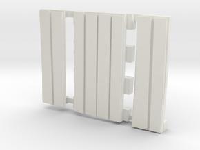 E-165-barrow-crossing-2R-curve-1a in White Natural Versatile Plastic