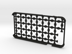 Cross iPhone6 4.7inch case in Black Natural Versatile Plastic