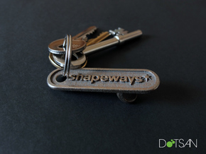 Shapeways Personalized Bottle Opener in Stainless Steel