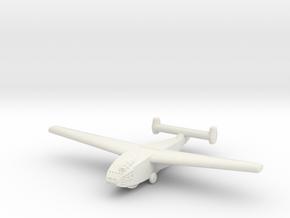 DFS-331 German Glider-Global War Scale-(Qty.1) in White Natural Versatile Plastic