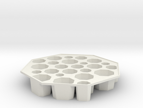 'Bogotá' Ice tray in White Strong & Flexible