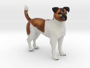 Custom Dog Figurine - Tilly in Full Color Sandstone