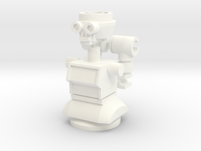 Maximum Cylinder Bot in White Strong & Flexible Polished