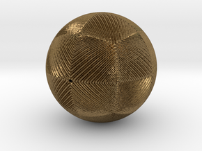 Christmas tree ornament #13 in Natural Bronze
