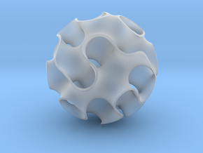 Small Gyroid in Smooth Fine Detail Plastic